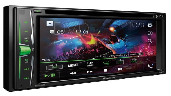 Pioneer AVH 201EX Review