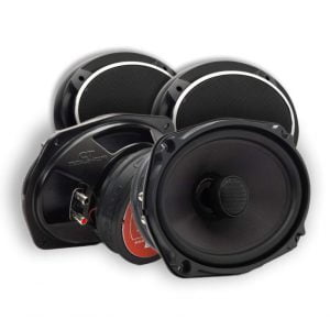 CT Sounds 6x9 Inch Coaxial Car Speakers