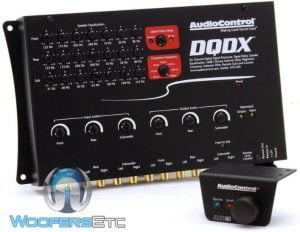 AudioControl DQDX Black 6 Channel Performance Digital Signal Processor