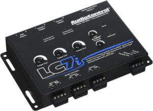 AudioControl LC7i Black 6-Channel Line Output Converter